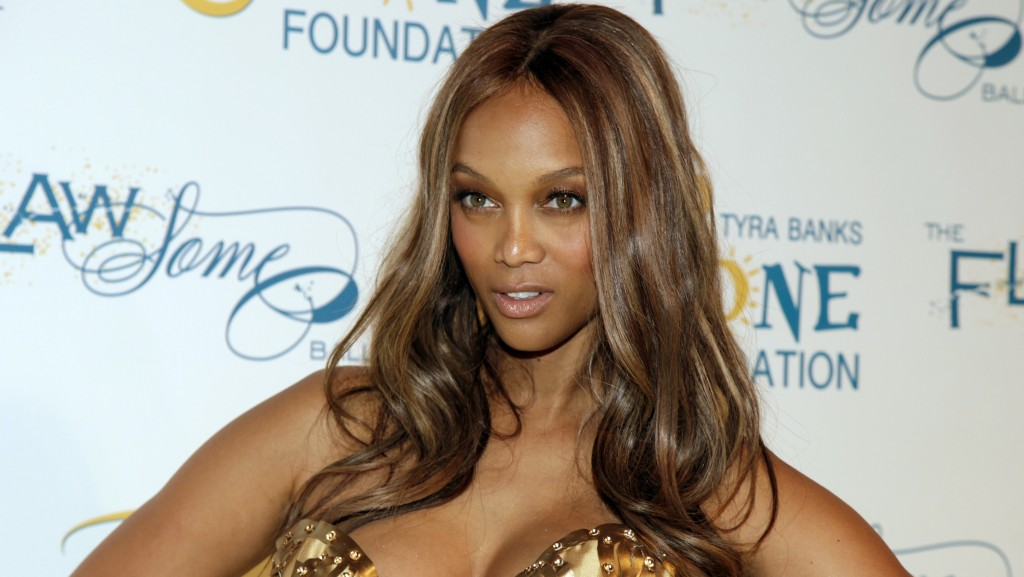 Television personality and fashion model Tyra Banks attends the Flawsome Ball on Tuesday, May 6, 2014, in New York. (Photo by Andy Kropa/Invision/AP)