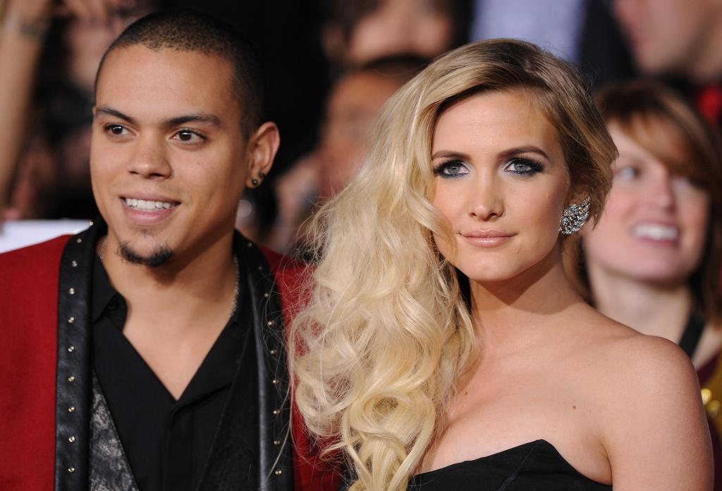 Evan Ross & Ashlee Simpson Release the Babything! - Verbal ...