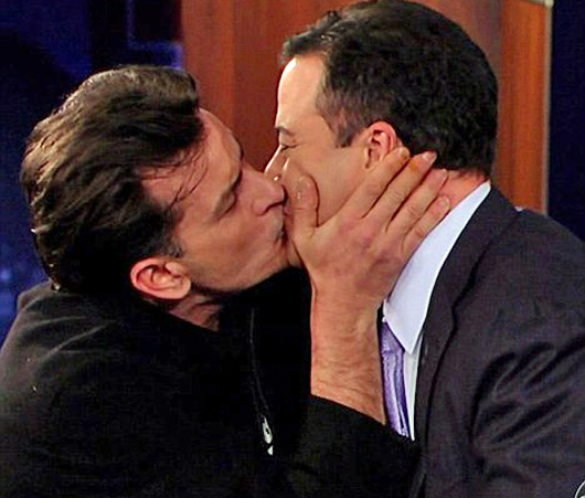 charlie-sheen-jimmy-kimmel-kiss