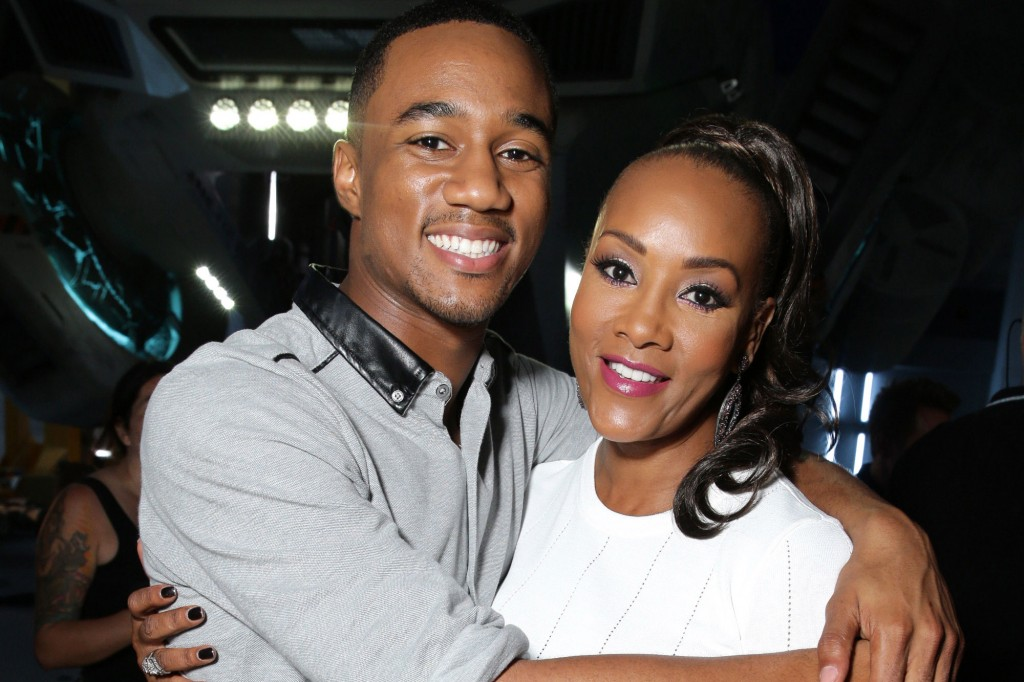 Vivica A. Fox returns with her grown up movie son