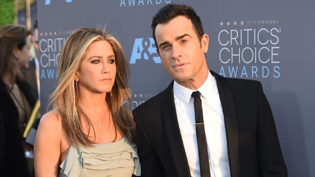 Aniston definitely has the world's best accessory in Justin Theroux...