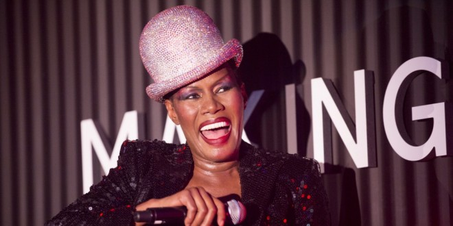 Grace Jones Documentary Coming In 2017! - Verbal Slaps Kim Cattrall Today